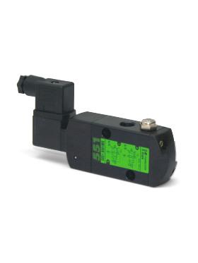 SCG55x ELEKTROMAGNET. VENTIL 5/2 INLINE